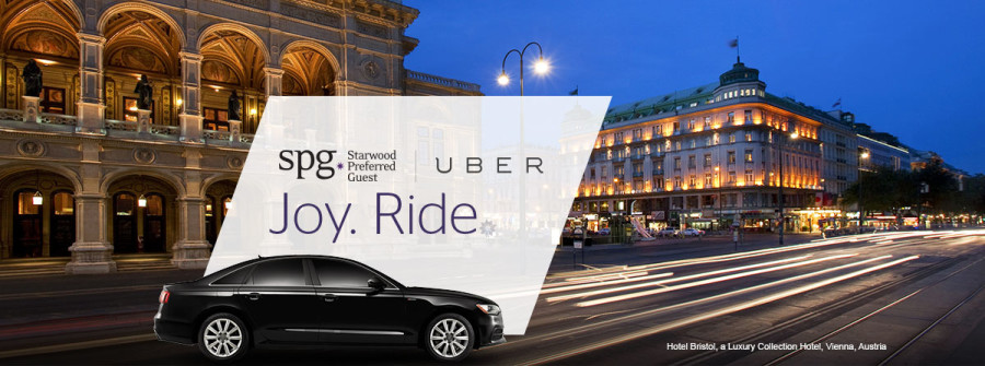 Uber & Starwood Partnership
