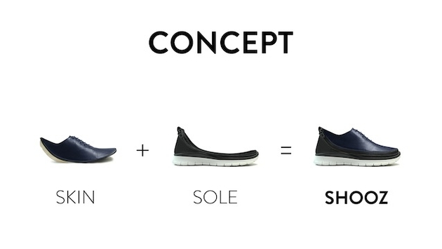 An Interesting New Take on Shoes: SHOOZ Can Streamline Travel Packing