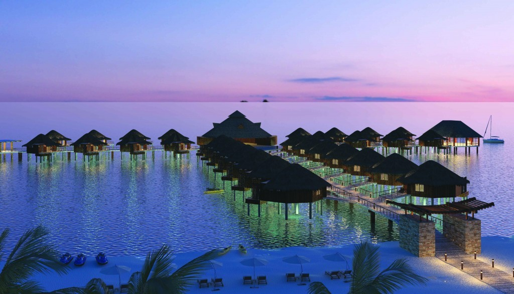 Mexico's First Over-Water Bungalows Scheduled to Open Soon!
